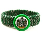 Harry Potter SLYTHERIN House Crest Kitty Cat Collar RESERVED LISTING for sarahcritchfield