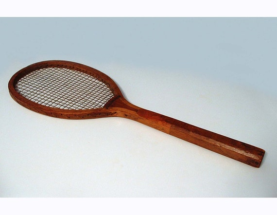 Vintage Tennis Racquet called Buckingham by Hibbard - Circa early 1900's