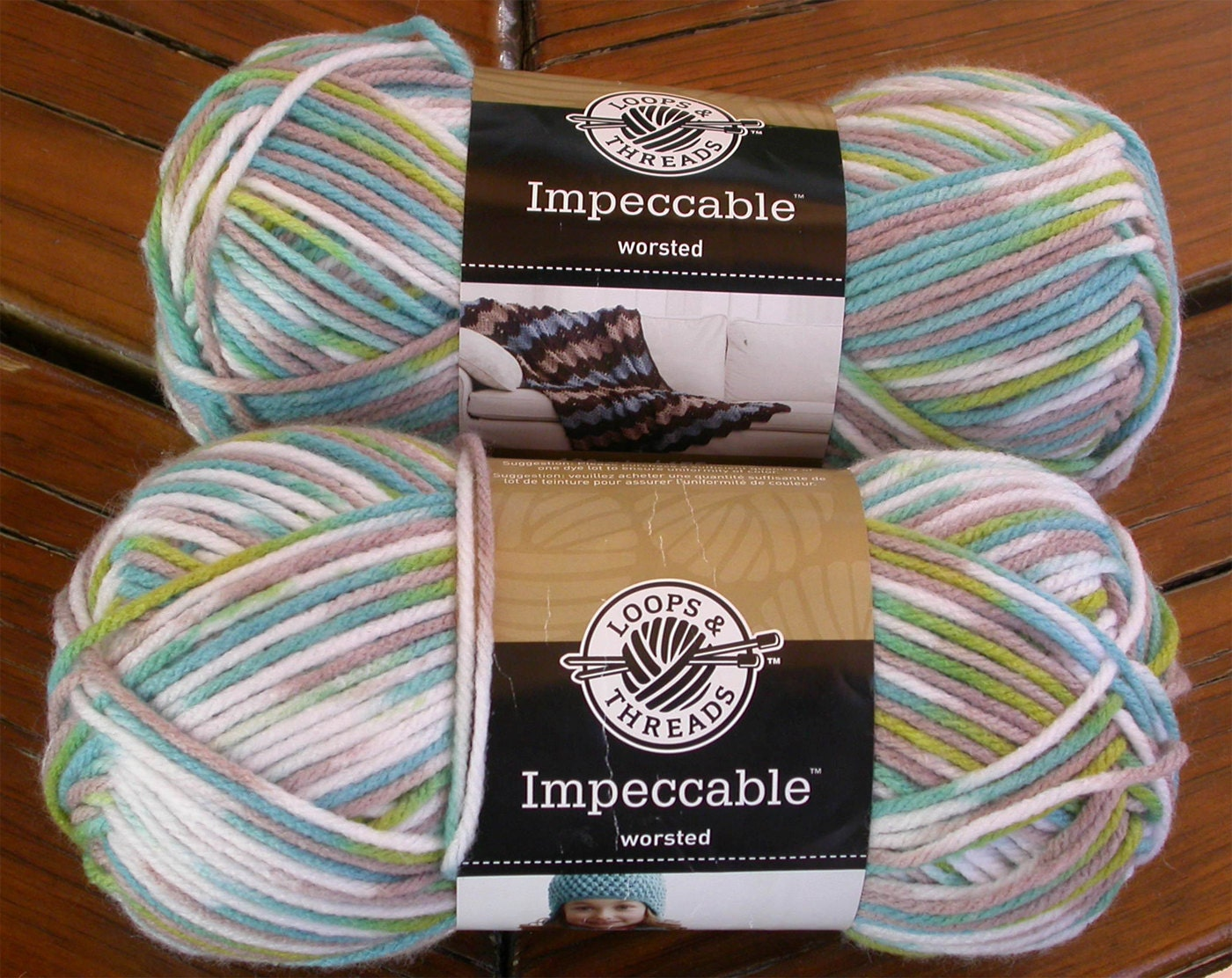 Yarn Loops and Threads Impeccable Ombres Vegan Acrylic