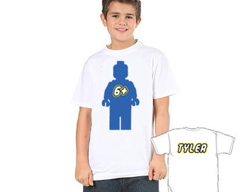 front and back lego tshirt