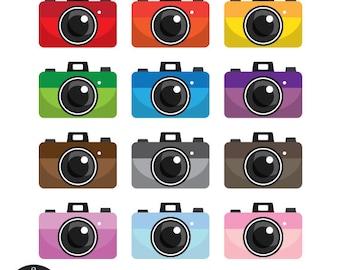 Digital Clip Art - Pocket Camera
