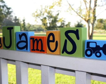 Construction Birthday Party Centerpiece - Tractor Nursery Name - Digger Theme Birthday Party - Digger Truck Construction Baby Shower Decor