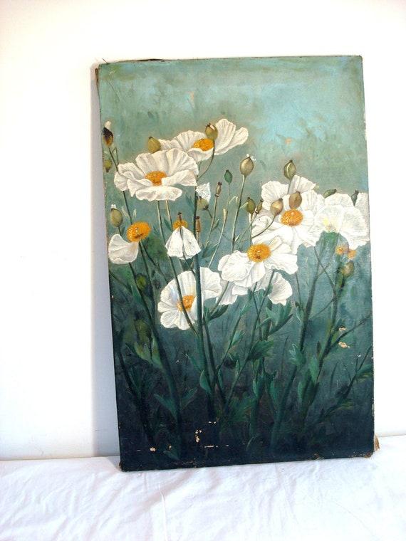 Vintage Handpainted Oil Painting