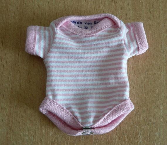 Onesie for 6 inch ooak or reborn baby girl