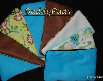 Waterproof BuddyPad Inserts for bellybands with Pul and Zorb, 3 pack.