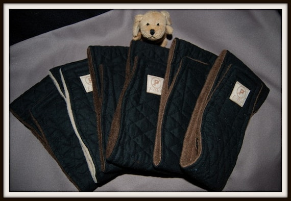 "Custom listing for Kari......Clearance price...Fur Buddy Products  OOAK  41/4"" wide Fits waist 17 - 19"""