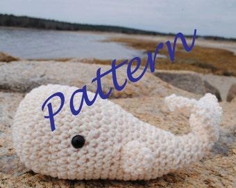 Woolie Whale Crochet Pattern -PDF-