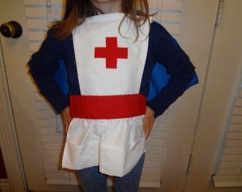 Nurse Apron Cape