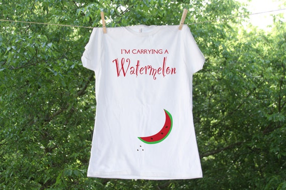 Maternity // I'm Carrying A Watermelon // Humorous