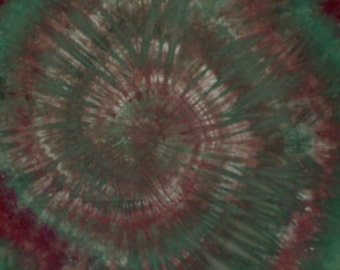 Hand dyed spiral cotton fabric - 304