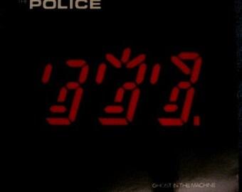 THE POLICE Ghost In The Machine Lp 1981 Original Vinyl Record Album