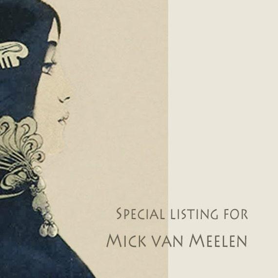 SPECIAL LISTING for Mick van Meelen. Vintage Kodak No. 2 Folding Hawk-eye film pack camera