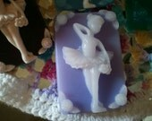 Ballerina Gift Soap ultra-rich Shea and Cocoa butter goats milk soap, 3-1/2 oz each, you select fragrance and color