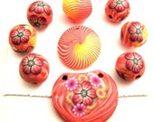 9 different Handmade Beads by TovArtCReations