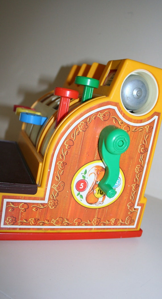 1974 Fisher Price Cash Register, No Coins