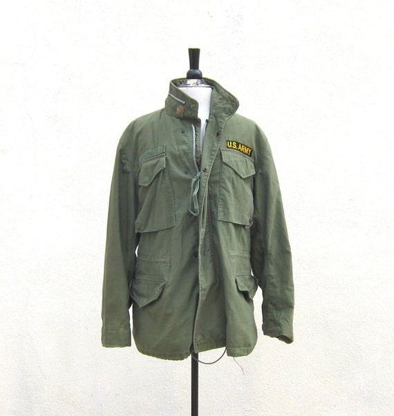 Vintage US Army 1960s M65 Field Jacket (mens large, ladies xl)