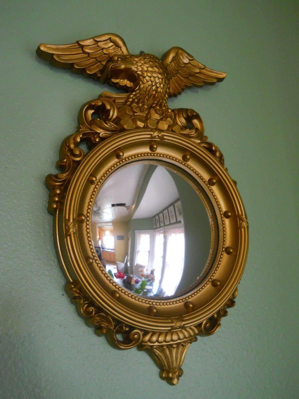 Federal Convex Eagle Mirror By Syroco