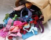 Grab bag of 50 hair ties