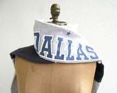 Dallas Cowboys T Shirt Scarf / Navy Blue Gray White / Upcycled / Recycled / Men / Unisex / Soft / Cotton / Unique / Gift for Her Him / ohzie