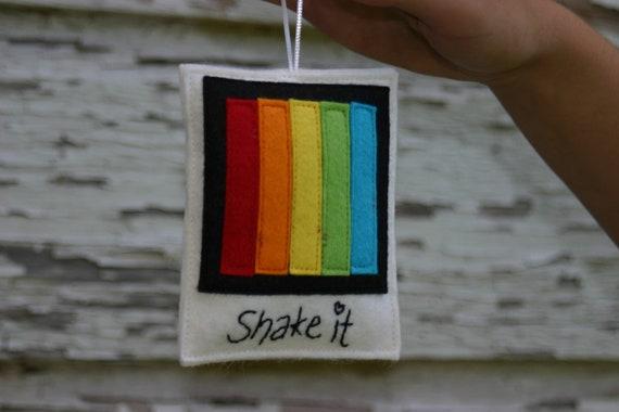 Polaroid Felt Magnet / Ornament