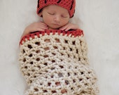 The Original Basketball Net Cocoon and Basketball Hat, Newborn