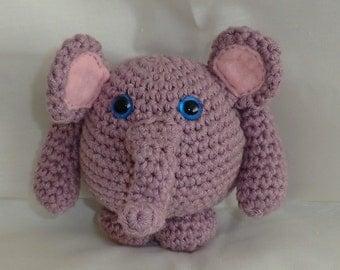 nuffalump elephant crochet amigurumi pattern