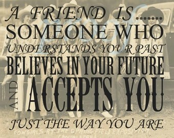 Vintage Cowgirl Friendship Quote Printable