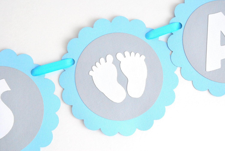Baby Shower Banner Elephant Banner Handmade Baby Shower Banner Elephant Baby