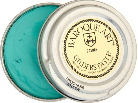 Gilders Paste- 30ml 1.5oz -Patina Color-Great for Patina's and Metal Work