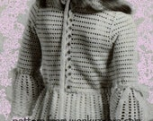 Vintage Crochet Pattern PDF 175 Wedding and Brides Maid Dresses from WonkyZebra
