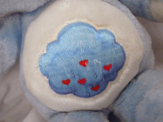 Grumpy Bear Care Bears 13 inch Plush Pastel Blue