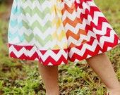 MELANY Twirl Strip Skirt - PDF Tutorial - Ebook
