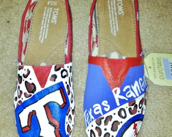 Texas Rangers Painted Toms
