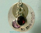 To The Moon Pendant A Perfect Gift