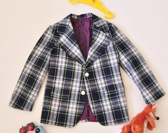 Vintage School Uniform Blazer