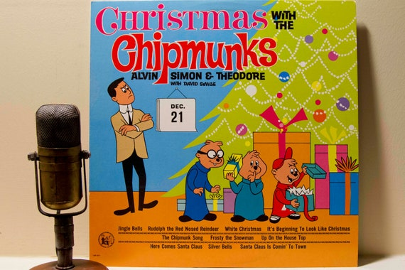 Christmas Vinyl Record Album 1960s Holiday Comedy Lp The