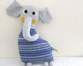 Handmade Doll : Tulu the Elephant