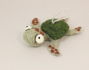 Needle felting Sea Turtle kit