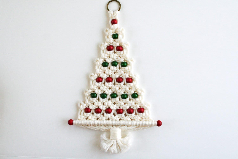 28 Best Macrame Christmas Tree Pattern Vintage Macrame