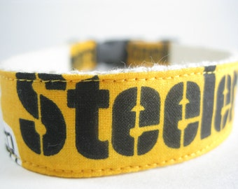 Pittsburgh Steelers hemp dog collar or leash