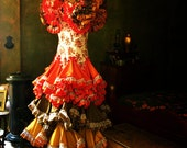 Special Listing for Valerie Davis 2 x Flamenco Dress in Bedroom Photographs