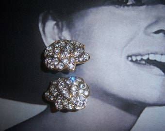 Nolan Miller Austrian Crystal Earrings