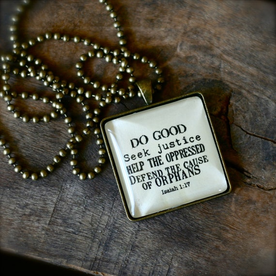 ISAIAH 1 17 Necklace