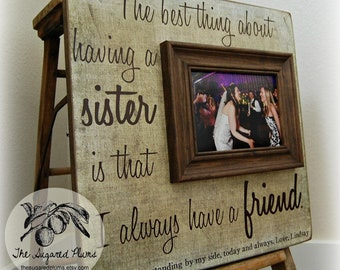Cool Wedding Gift For Sister : sister gift unique sister gift sister gift in law best sister gifts ...