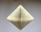 Spinner: folded Book Art Hanging Ornament