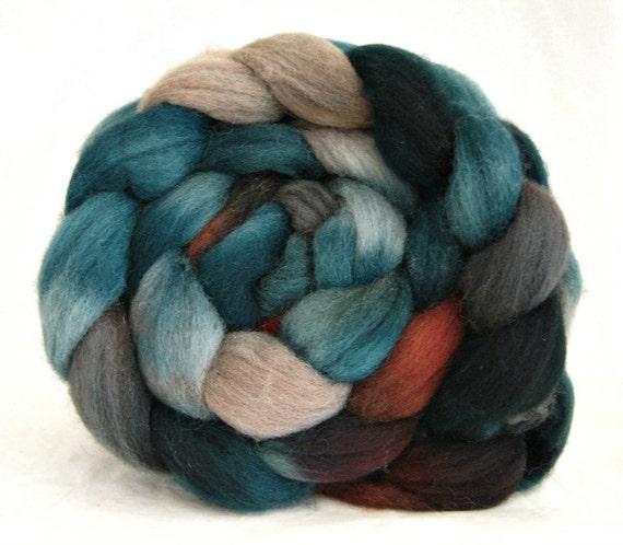 wool roving, felting fibers, Shetland roving, spinning wool