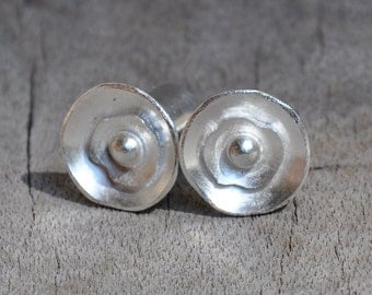 0 Gauge Nesting Sterling Silver Plugs- made to order