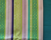 Book Sling Inspiration board - Lavender, Lime Green, turquoise Book Sling- Bright nursery Girl bedroom decor storage