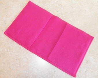 Fleece Swiffer Sweeper Pad Refill- Set of 2- PINK- 25007