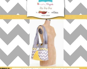 Zig Zag Bag by RBD Designers for Riley Blake, complete kit